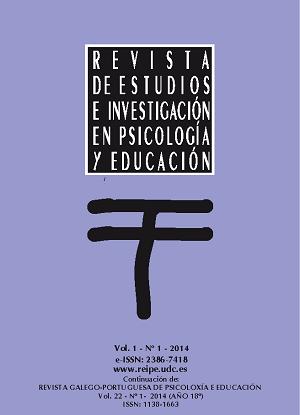 Revista de Estudios e Investigación en Psicología y Educación, Volumen 1, Número 1.