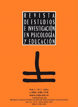 Revista de Estudios e Investigación en Psicología y Educación, Volumen 1, Número 2.