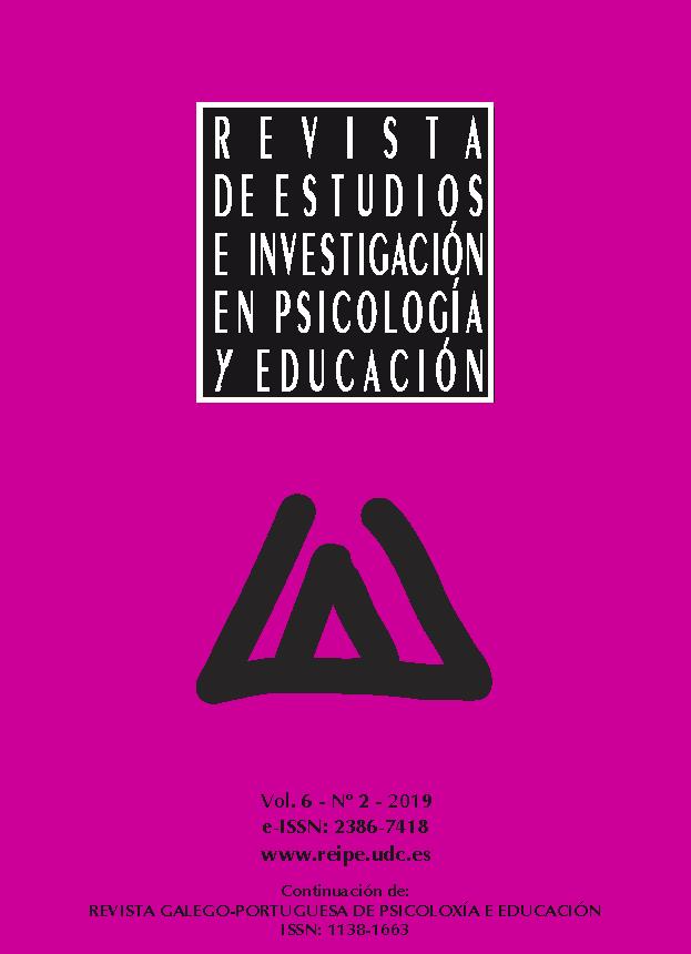 Portada REIPE volumen 6 número 2 2019