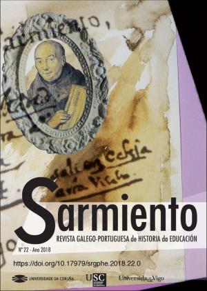 Sarmiento. Revista galego-portuguesa de historia da Educación (cubierta)