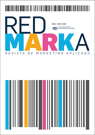 Portada de Redmarka. Revista de Marketing Aplicado