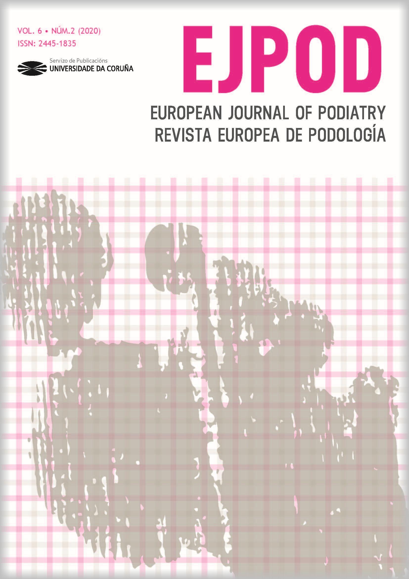 European Journal of Podiatry. Revista Europea de Podología